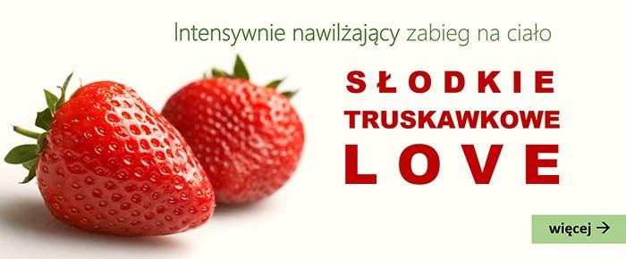 Słodkie truskawkowe LOVE